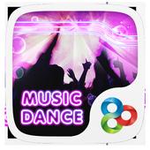 Music Dance GO Launcher Theme icon