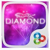 My Diamond GO Launcher Theme icon