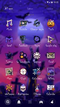 Mysterious Halloween GO Launcher Theme screenshot 1