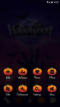 Mysterious Halloween GO Launcher Theme screenshot 3