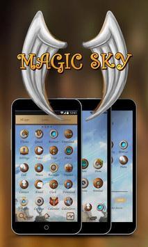 Magic Sky GO Launcher Theme poster