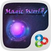 Magic World GO Launcher Theme icon