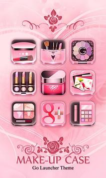 Make-up Case GO Launcher Theme poster