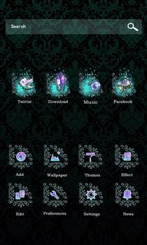 Mask Go Launcher Theme apk screenshot