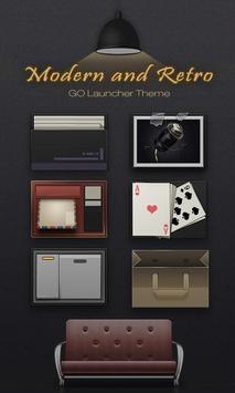 ModernRetro GO Launcher Theme poster