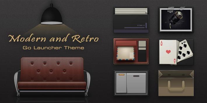 ModernRetro GO Launcher Theme screenshot 5