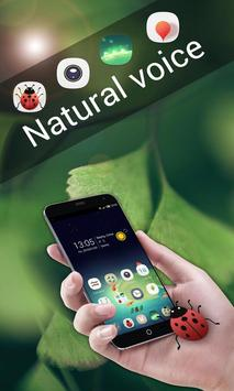Natural Voice GOLauncher Theme poster
