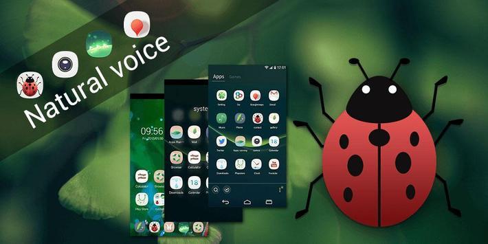 Natural Voice GOLauncher Theme apk screenshot