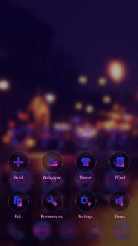 NeonLightsII GO Launcher Theme apk screenshot