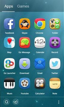 Bubble GO Launcher Theme apk screenshot