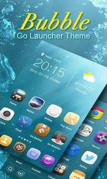 Bubble GO Launcher Theme poster