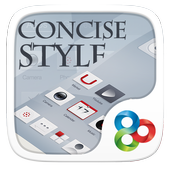 Concise Style GOLauncher Theme icon