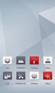 Concise Style GOLauncher Theme apk screenshot