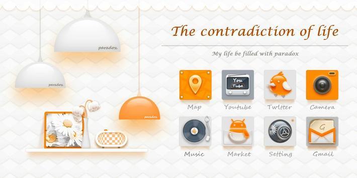 Contradiction GO Theme poster