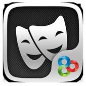 (FREE) Dark Metal GO Theme icon