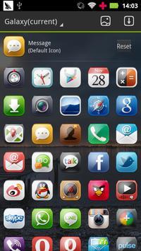 Galaxy GO Launcher Theme apk screenshot
