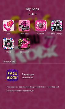 Girls Rock GO Launcher Theme screenshot 3