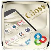 Gloss GO Launcher Theme icon