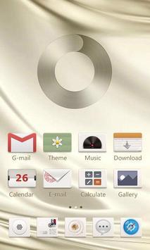 Gloss GO Launcher Theme apk screenshot