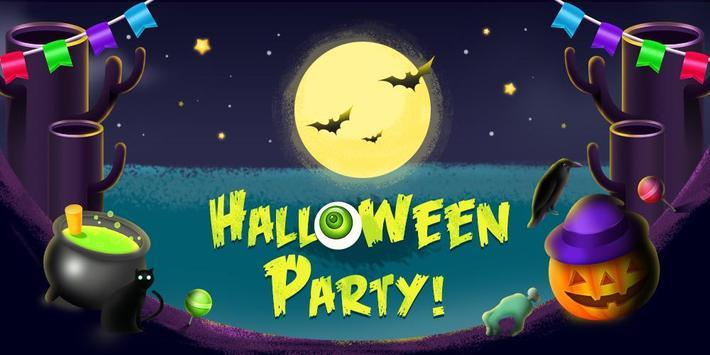 Halloween Party GO Launcher Theme screenshot 4