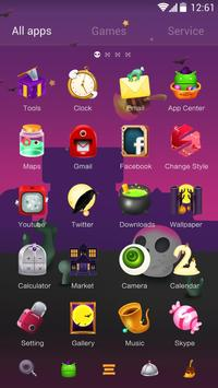 Halloween Party GO Launcher Theme screenshot 1