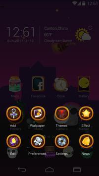 Halloween Party GO Launcher Theme screenshot 3
