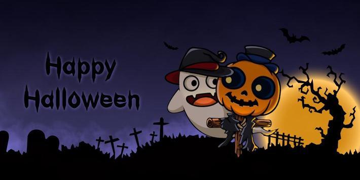 Happy Halloween GO Launcher Theme screenshot 4
