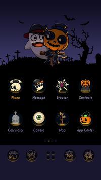 Happy Halloween GO Launcher Theme poster