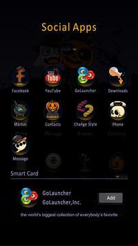 Happy Halloween GO Launcher Theme screenshot 2