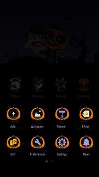 Happy Halloween GO Launcher Theme screenshot 3