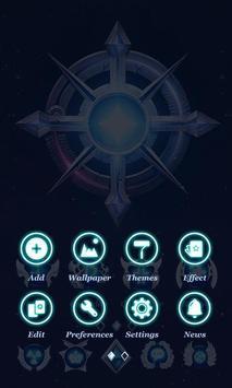 IRON GO Launcher Theme apk screenshot