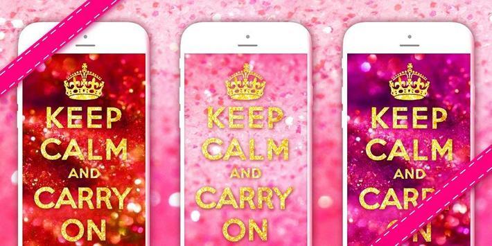 Keep Calm Girl GO Theme apk screenshot