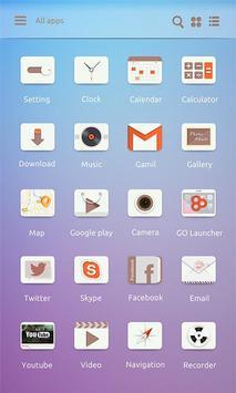Ligh Llife GO Launcher Theme screenshot 3