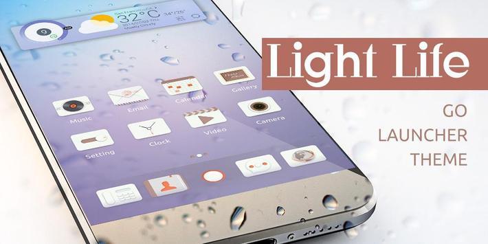 Ligh Llife GO Launcher Theme poster