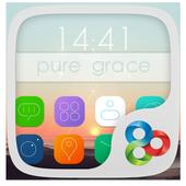 Pure Grace GO Launcher Theme icon