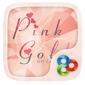 Pink Gold GO Launcher Theme icon