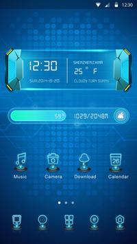 Projection GO Launcher Theme apk screenshot
