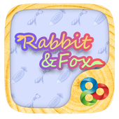 Rabbit And Fox GOLauncherTheme icon