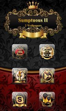Sumptuous II GO Launcher Theme poster