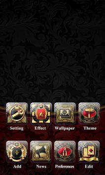 Sumptuous II GO Launcher Theme apk screenshot