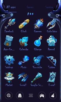 Space Soul Go Launcher Theme screenshot 1