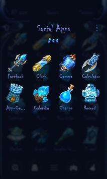 Space Soul Go Launcher Theme screenshot 2
