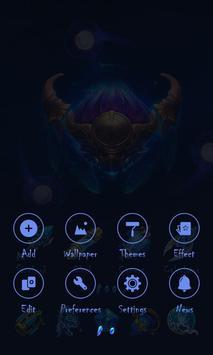 Space Soul Go Launcher Theme screenshot 3