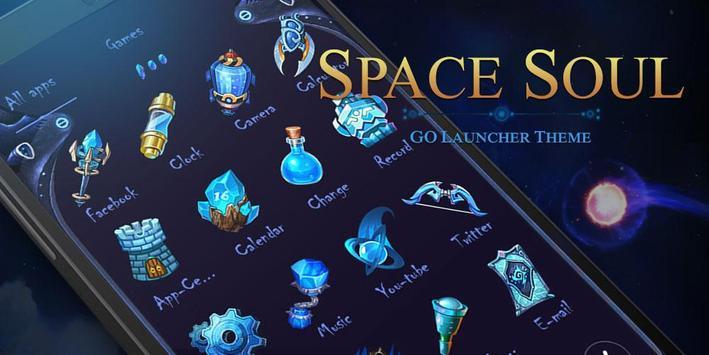 Space Soul Go Launcher Theme apk screenshot