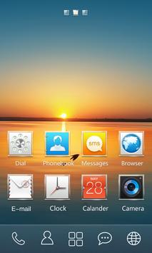 Square GO Launcher Theme screenshot 1