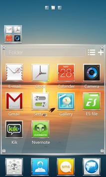 Square GO Launcher Theme screenshot 3