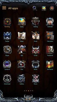 Viking II GO launcher Theme apk screenshot