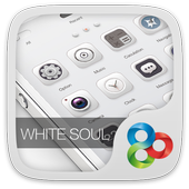 White Soul GO Launcher Theme icon