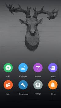 White Silence GOLauncherTheme apk screenshot