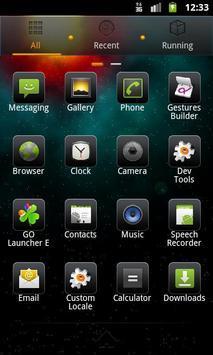 Infinity Go Theme screenshot 1
